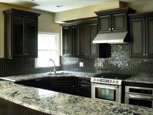 Contemporary Black & Gray Kitchen